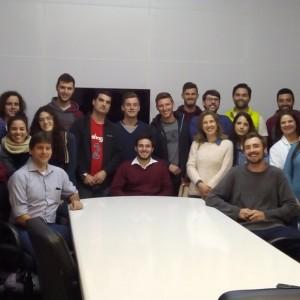Lavin recebe visita de acadêmicos da IFRS